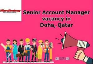 Senior Account Manager vacancy Doha, Qatar,account manager jobs dubai salary, key account manager salary in dubai, finance manager jobs in dubai, account manager job description, accountant jobs in dubai,