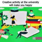 Creative activity university will make you happy ,chapman university, chapman university research opportunities, chapman university undergraduate research, chapman research, chapman university research centers, office of research chapman university, chapman university gerontology, chapman university machine learning,