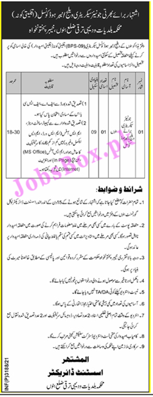 Jobs in Bannu Latest