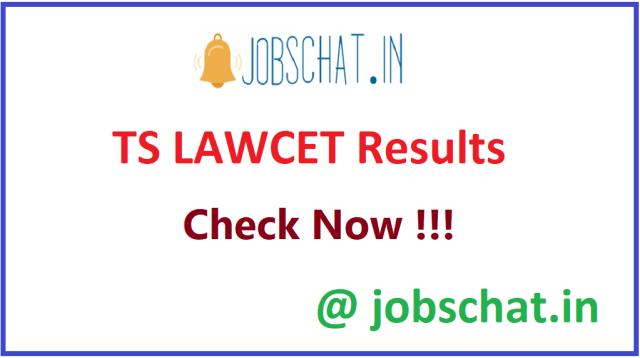 टीएस LAWCET परिणाम
