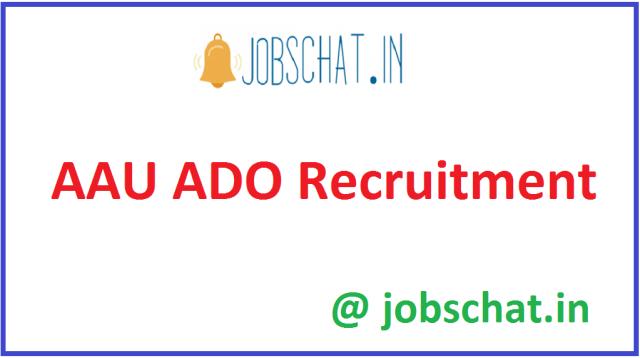 AAU ADO Recruitment