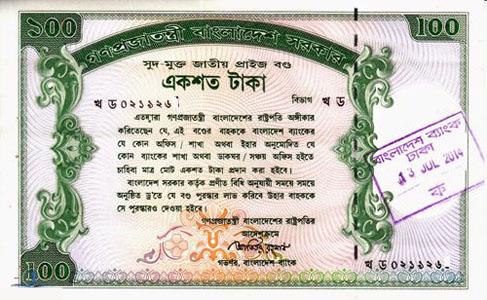 100 T.K Prize Bond Lottery Draw Result