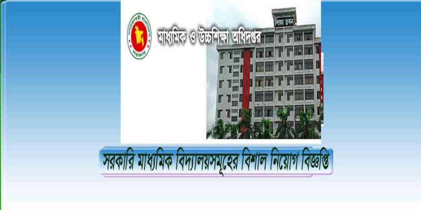 Govt High School Job Circular 2018
