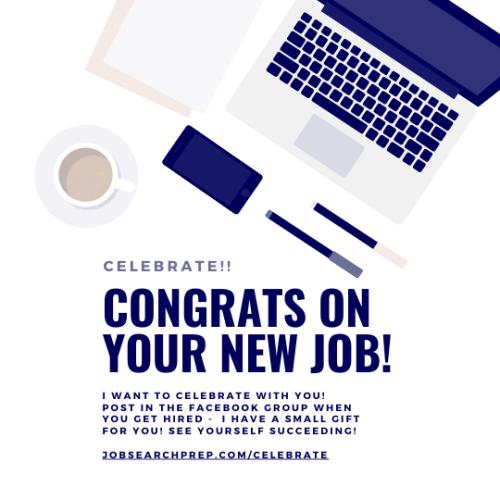 Congrats on your new job - SOCIAL MEDIA - JSP