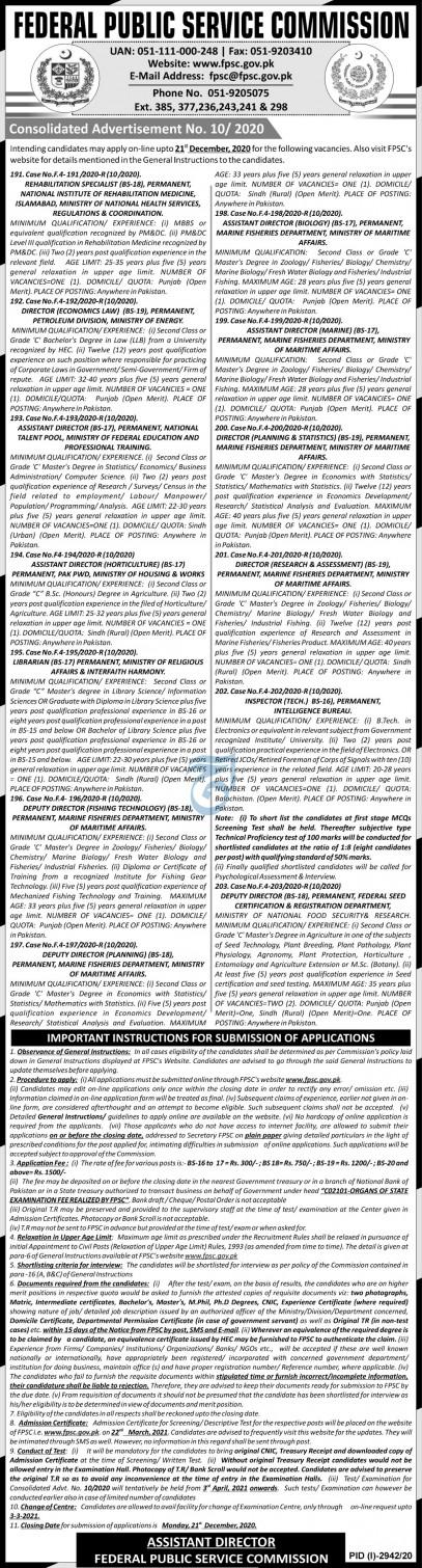 Intelligence Bureau Pakistan IB Jobs 2021