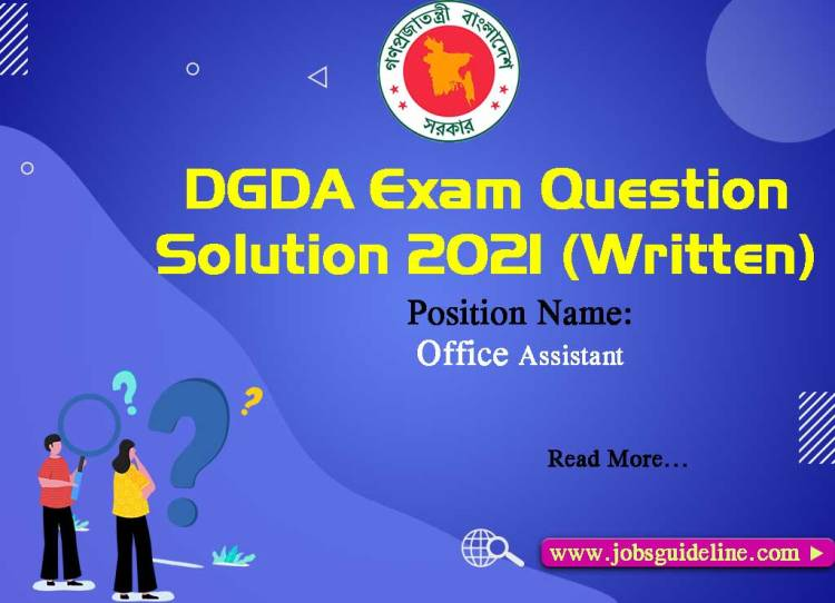 DGDA Question Solution