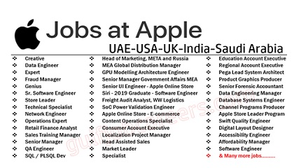 Apple Employment Jobs