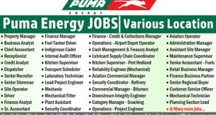 Puma Energy Employment & Jobs