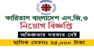 Caritas Bangladesh (CB) published a Job Circular
