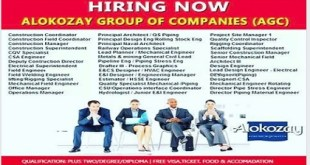 HIRING NOW !! ALOKOZAY GROUP OF COMPANIES