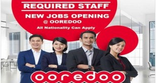 NEW JOBS OPENING @ OOREDOO