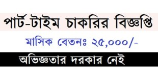 Part-Time Jobs circular