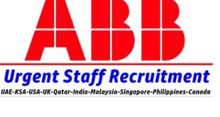 ABB Staff Recruitment
