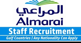 Almarai Career Opportunities 2019