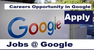 Careers Opportunity in Google