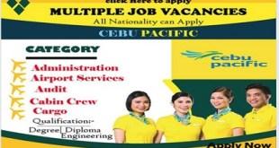 Cebu Pacific Careers & Staff Recruitment