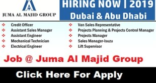 Job Vacancies at Juma Al Majid Group