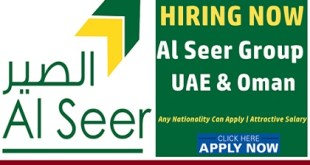 Latest Job Vacancies at Al Seer Group