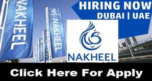 Nakheel Direct Staff Recruitment