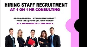 New Jobs AT 1 ON 1 HR CONSULTING