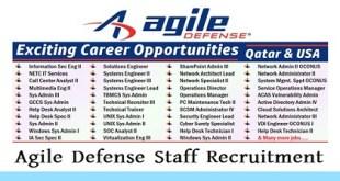 Agile Defense Staff Recruitment