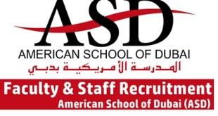 Latest Job Vacancies at American School of Dubai (ASD)