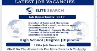 LATEST JOB VACANCIES AT ELITE SEARCH