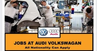 New Job Opening! AT AUDI VOLKSWAGAN