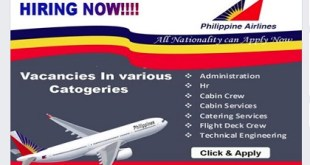 Philippine airlines careers -2019