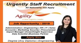 hiring staff recruitment@ AGILITY