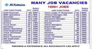 AL FUTTAIM GROUP ACCOUNTS AND FINANCE NEW JOBS