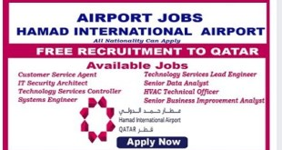 Hamad International Airport -JOBS – 2019