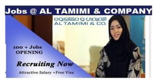 Jobs Recruitment @ AL TAMIMI & COMPANY