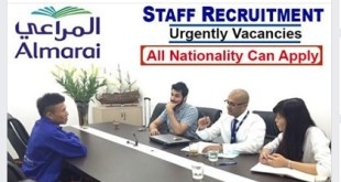 Various Online Job search in Almarai