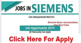 Staff Recruitment @ SIEMENS