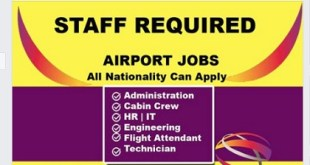 SINGAPORE CHANGI AIRPORT JOBS 2019