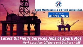 Oil and Gas Jobs at Spark Maintenance & Oil Fields Services | UAE