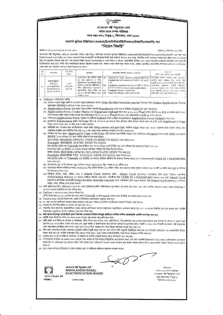 Government Job Circular in bd