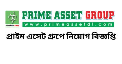 Job Circular at Prime Asset
