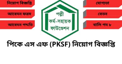 Bd Jobs Circular PKSF
