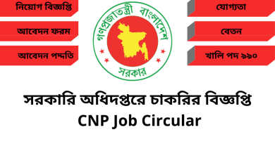 CNP Job Circular