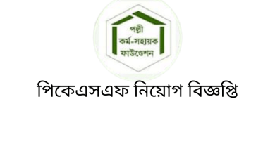 PKSF BD Job Circular