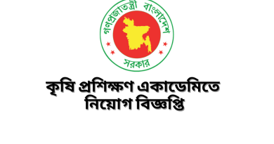 Job Circular at Agricultural Training Academy