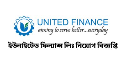 Job Circular at United Finance Ltd