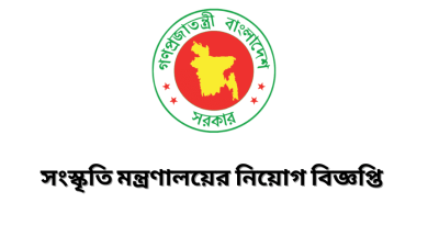 Ministry of Culture Government Job Circular