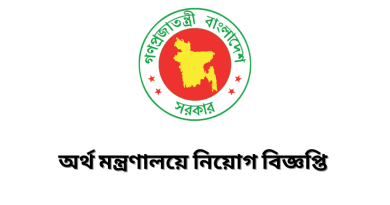 Ministry of Finance Job Circular