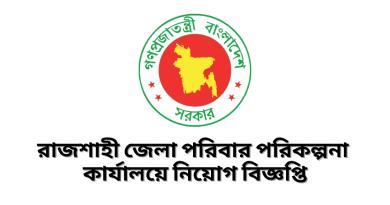 Rajshahi Family Planning Job Circular 2021