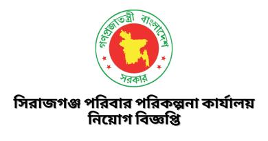 Sirajganj Family Planning Job Circular 2021