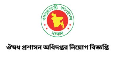 DGDA Govt Job circular 2021