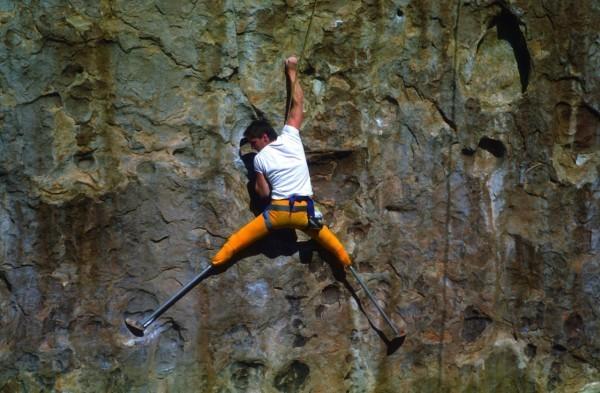 Hugh herr rock climbing as an amputee